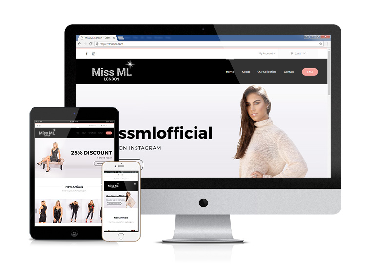Miss ML – Online Clothes Retailer